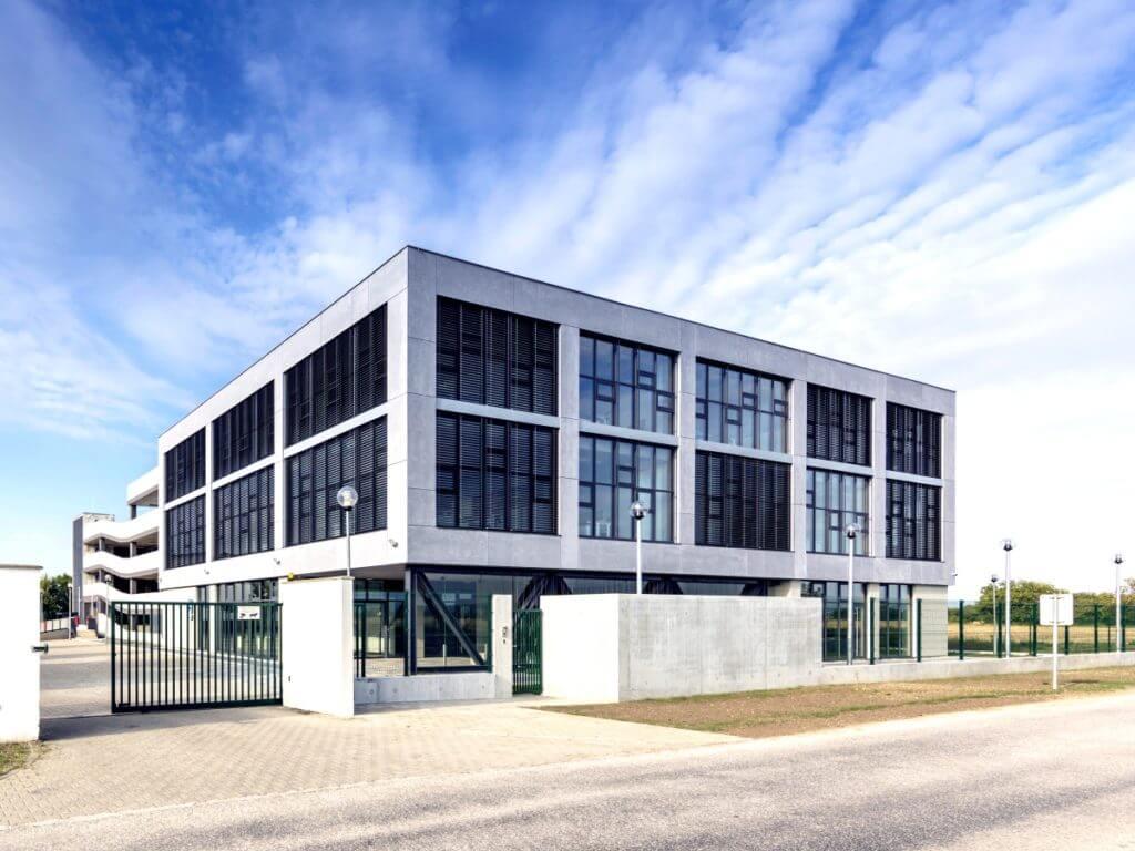 Administrativní budova Piešťany, modelovaná pomocí BIM